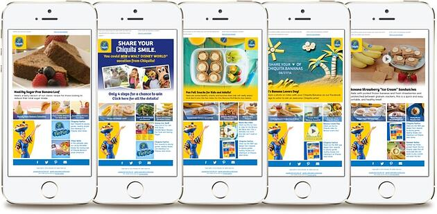 chiquita newsletter email marketing database segmentation personalization.jpg